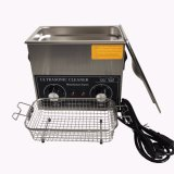 Ultrasonic Cleaner with Basket and Drain (TSX-120T)