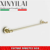 Bathroom Golden Plated Brass Towel Bar 5292