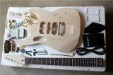 Hanhai/Electric Guitar Kit with Gold Hardware (Guitar Parts DIY guitar)