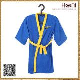 D-001 100 Cotton Kids Sleeveless Bathrobe with Belt