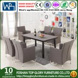 New Product 1.2mm Aluminium and 2*2 Textilene Fabric Outdoor Dining Table Sets (TG-6201)