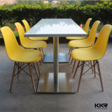 6 Seaters Acrylic Solid Surface Used Restaurant Table