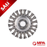 Sali Industry Steel Round Wire Brush Wheel for Removing Stain