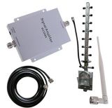 WCDMA 2100MHz Mobile Phone Signal Booster Amplifier Booster Antenna Kit 500m² New
