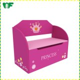 Wholesale Princess Wooden Kids Multipurpose Storage Box