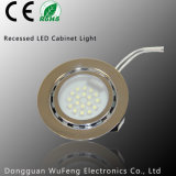 1.5W LED Glass Cover Recessed Install LED Light for Kitchen