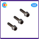 Steel/4.8/8.8/10.9 Hexagon Cheese Head Inch Self Tapping Screw with Washer