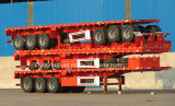 China Supplier Trailers Price 40FT 3 Axles Flatbed Semi Trailer
