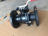 Carbon Steel Mounting Pad Flanged Ball Valve