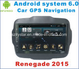 Android System 6.0 Car GPS for Renegade 2015 with Car Navigation