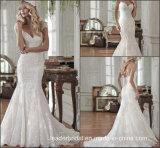 Cap Sleeves Mermaid Wedding Dress Sweetheart Lace Bridal Gown W15241