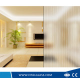 Clear Patterned Glass with Ce, ISO