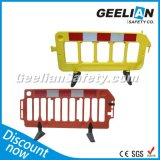 Orange/White/Yellow Safety Fence Portable Safety Road Plastic Traffic Barrier