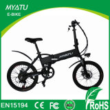 Top E-Cycle Hot Selling 250W Myatu Israel Folding Electric Cycle Bike