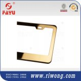 Shinny Golden Color Car License Plate Frame