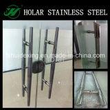 304 Inox Glass Door H Shape Handle