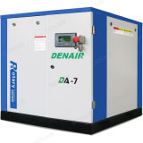 Stationary Electric Motor Lubricated Screw Compressor with Oil Filter