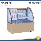 Commercial Marble Base Cake Display Showcase Refrigerator in Good Quality