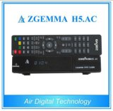 High-Tech DVB-S2+ATSC Hevc/H. 265 Twin Tuners Zgemma H5. AC FTA Mexico/America Satellite Receiver