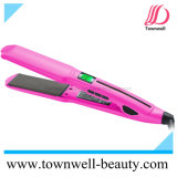 Salon Professional 450° F Hair Straightener with Korea Nano Silver and Tourmaline Ceramic Coating
