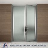 Aluminum Casement Bathroom Glass Doors Price
