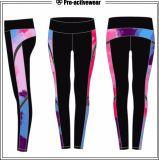Wholesale Women Quick Dry Sports Leggings Custom Polyester Spandex Sportswear