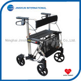 Aluminium Foldable Walker Rollator with Seat