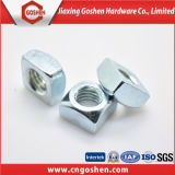DIN557 Carbon Steel Zinc Plated HDG Square Nuts