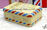 Delicate Wedding Tin Box Customized Accept