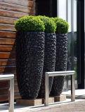 Fo-226 Decorative Bubble Fiberglass Plant Pot