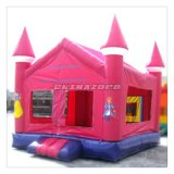 Custom Made Pink Color Bounce House Inflatable Moowalk for Sale