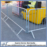 Fixed Feet Galvanized Pedestrian Barrier
