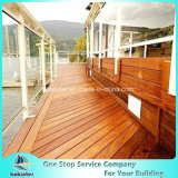 Bamboo Decking Outdoor Strand Woven Heavy Bamboo Flooring Villa Room 51