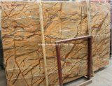 Rain Forest Brown Marble for Slabs, Tiles, Wall Decoration