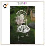 White Folding Outdoor Chair (pl08-5084)