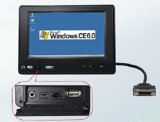 """7"""" Embedded All in One PC with OS Wince 6.0"""