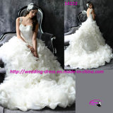 Romantic Ball Gown Wedding Dress with Sweetheart