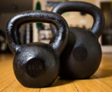 Black Casting Iron Kettlebell for Sale