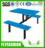 Hot Sale Durable Fibreglass Canteen Table and Bench Set (DT-10)