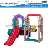 Plastic Swing and Slide Playground for Kids Play (M11-09411)