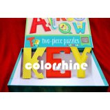 Clild Printing Paper Letter Puzzle Book Play Card