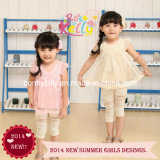 2014 New Summer Design Girl's Top Wear (9222)