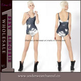 Fashion Mecha Girl Sad One-Piece Teddy Swimsuit Beachwear (TMY072)