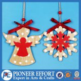Wooden Hanging Decoration for Christmas Decoration and Christmas Tree Decoration