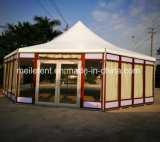Aluminum Frame with Toughened Glass Display Tent
