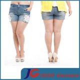 Plus Size Women Denim Shorts (JC6087)