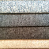95% Polyester and 5% Nylon Composition Imitation Linen for Sofa