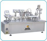 Automatic Injection Liquid Filling Machine with Capping Labeling Line