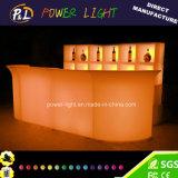 Light up Furniture Illuminated LED Corner Bar Section