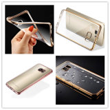 High-Grade TPU Plating Cell/Mobile Phone Case/Cover for Samsung S7/S7 Edge